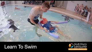 Intensive Swimming Lessons at Splashpoint Leisure Centre