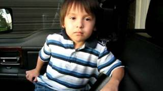 three year old sings juke box hero