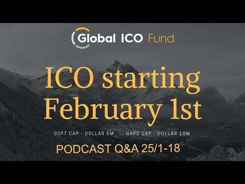 Audio Recording Q&A Global ICO Fund 25/1-18