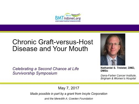 2017 Chronic Graft versus Host Disease and Your Mouth