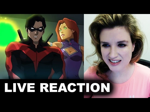 Teen Titans The Judas Contract Trailer REACTION streaming vf