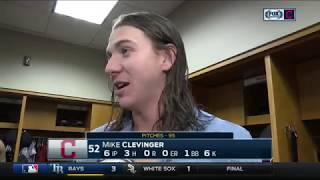 Mike Clevinger recalls his encounter with Justin Verlander | Indians Live postgame thumbnail