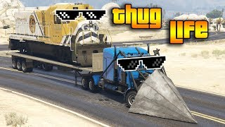 GTA 5 ONLINE : THUG LIFE AND FUNNY MOMENTS (WINS, STUNTS AND FAILS #66)