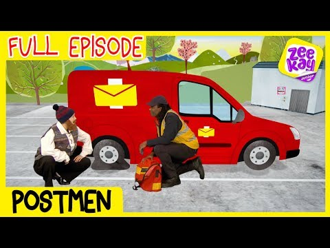 Lets Play: Postmen | FULL EPISODE | ZeeKay Junior