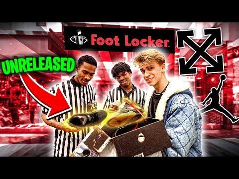 RETURNING UNRELEASED SNEAKERS TO FOOTLOCKER... (PRANK)