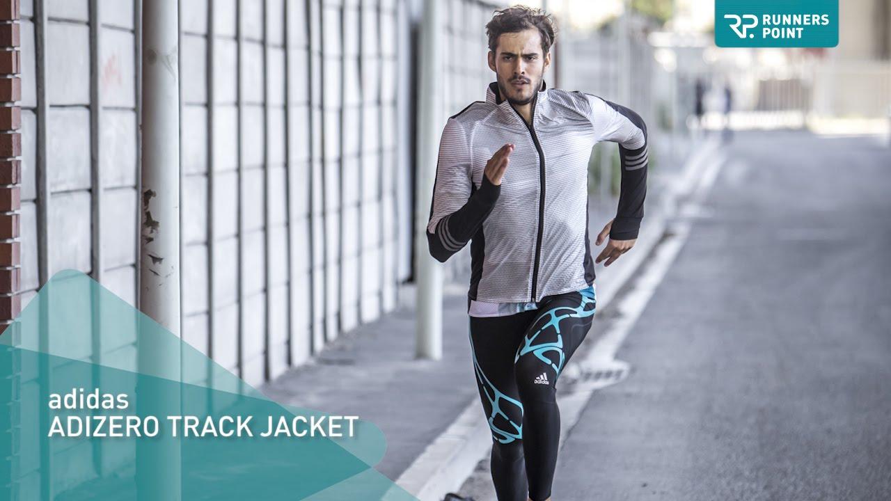 adidas ADIZERO TRACK JACKET