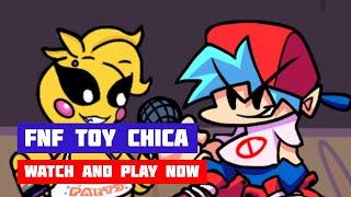 Friday Night Funkin' (FNF) Toy Chica | FNF + FNAF | HTML5 Online Port