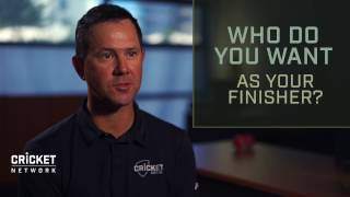 Video Ponting names T20 cricket's best finishers download MP3, 3GP, MP4, WEBM, AVI, FLV April 2018