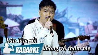[KARAOKE] Thư Cho Mẹ - Quang Lập BEAT TONE NAM