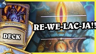 RE-WE-LAC-JA!!! - MECHA'THUN WARLOCK - Hearthstone Deck (Rastakhan's Rumble)