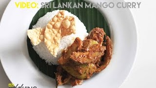 Sri Lankan Mango Curry