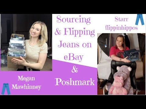 LIVE SHOW: Sourcing & Flipping  Jeans With Megan Mawhinney | EBay & Poshmark Tips