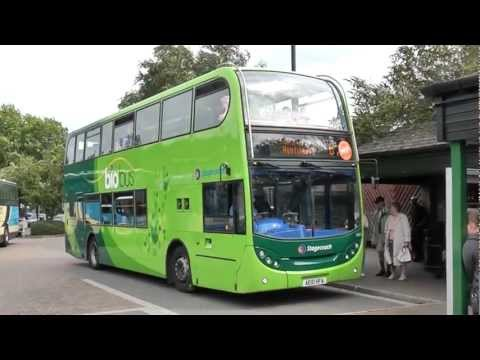 Route B. Cambridge Guided Busway. (fast version)