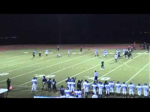 AJ Cummings Junior Year Kapaa High School Football