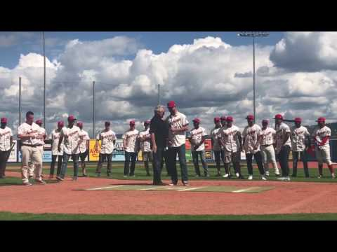 Talent Contest at the 2017 Spokane Indians FanFest