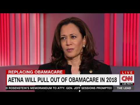 Jake Tapper Calls Out Kamala Harris For Trying To Blame Republicans For Obamacare's Failures