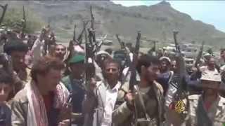 استمرار المعارك بين المقاومة والحوثيين على أطراف دمت