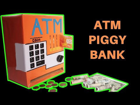 Thumbnail: How to make an ATM PIGGY BANK at Home Just5mins #2