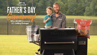 Father's Day Giveaway | Win a Traeger Ironwood 885 & Accessories | BBQGuys