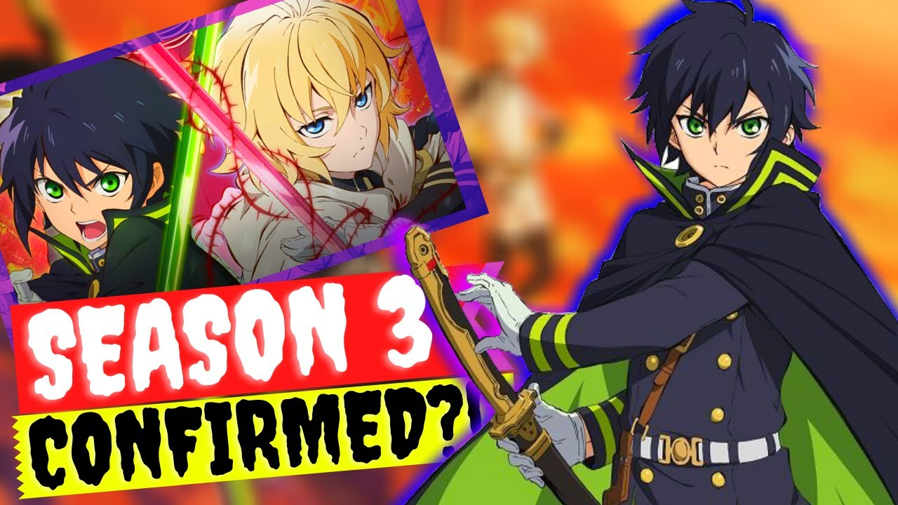 Seraph Of The End Season 3 Confirmed!? Fake Rumors and Release Situation  Clarification! - YouTube