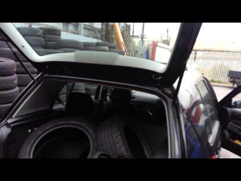 Vw golf mk4 tailgate lock repair.