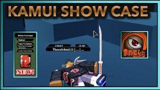 NEW KAMUI SCROLL SHOWCASE!!| SPAWN LOCATION? +2x EXP| ROBLOX Naruto RPG- Beyond |