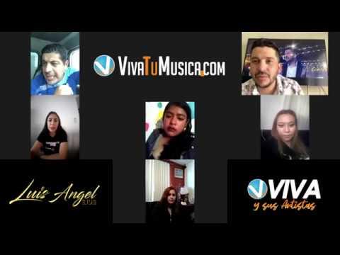 Viva y sus artistas con Luis Angel