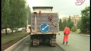 Двойная работа: на пр. Вахитова снова снимают асфальт