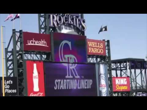 Colorado Rockies 2017 Starting Lineups (vs. San Diego Padres)