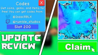 NEW WORKING BOOST CODES | ATLANTIS UPDATE (UPDATE 21) | BUBBLE GUM SIMULATOR | ROBLOX