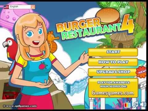 Cooking Games For Girl Burger Restaurant 4 Youtube