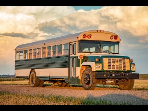 The Ultimate School Bus Conversion