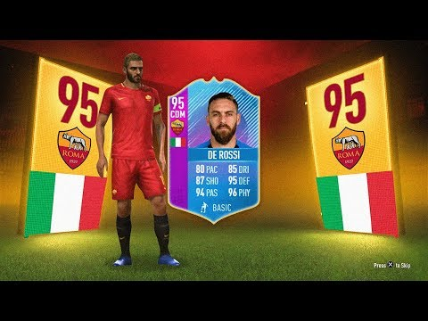 INSANE 95 DE ROSSI SBC! - FIFA 18 Ultimate Team