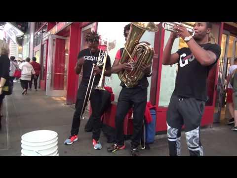 Times Square New York City Live music-Canlı Dinleti