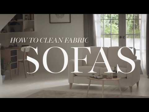How to Clean my Fabric Sofa?