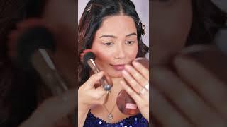 Wedding guest glam makeup For Purple &  Fuchsia Pink Dress #Makeupshorts #shorts
