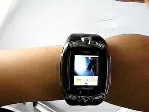 M810 M801 WATCH MOBILE PHONE CAMERA TRIBAND - YouTube