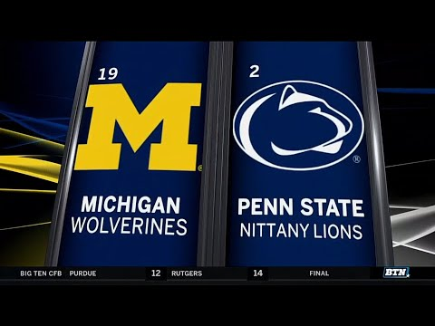 Michigan at Penn State penn state football