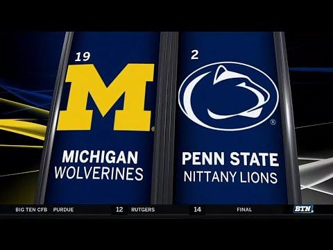 Michigan at Penn State - Football Highlights