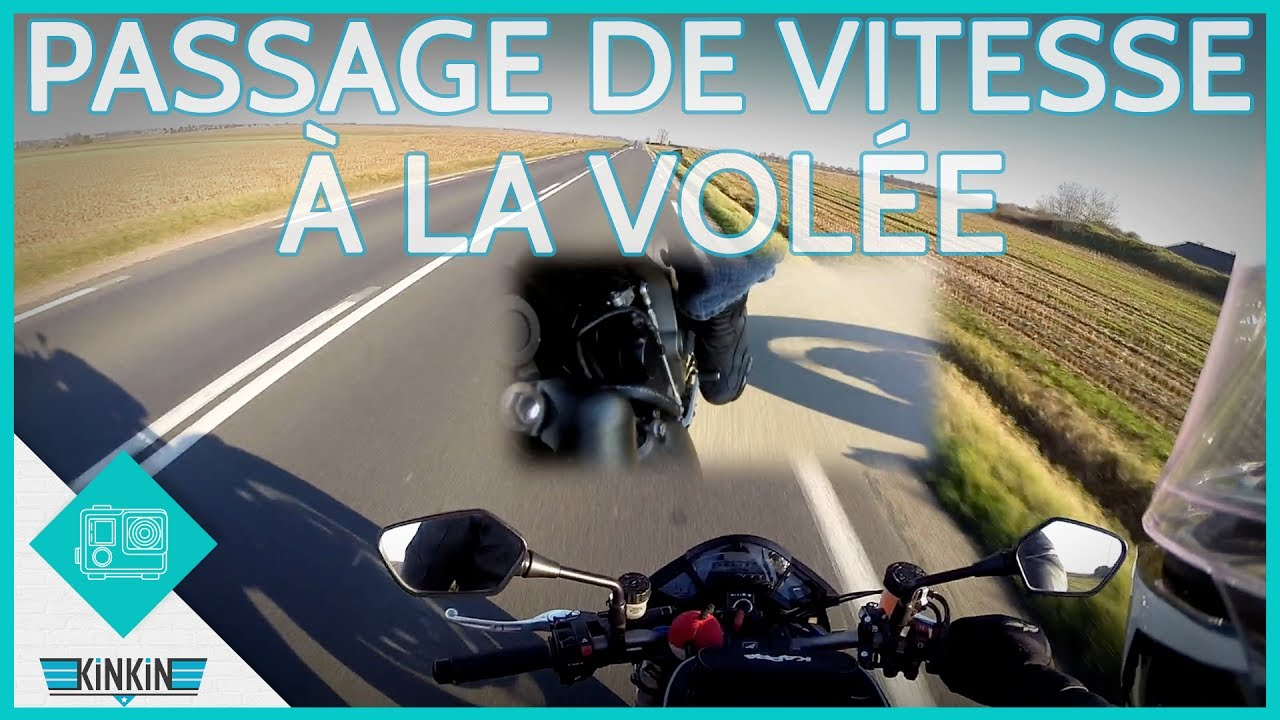 PASSAGE DE VITESSE À LA VOLÉE - YouTube