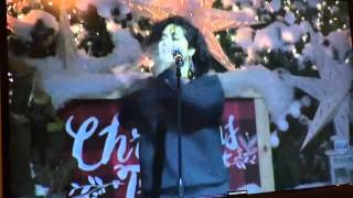 Brooke Simpson singing This Christmas