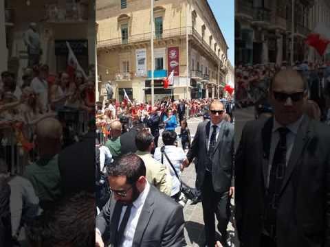 Joseph Muscat Prime Minister again 5.7.17