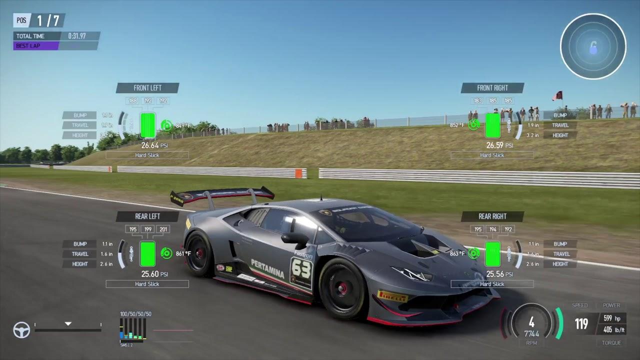 Project Cars 2 Lamborghini Huracan Snetterton 300 Circuit