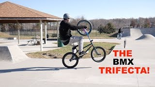 The ULTIMATE BMX Trifecta SETUP!  *** WILL IT RIDE? ***