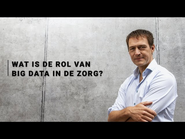 Erik Jan Vlieger - Rol van big data