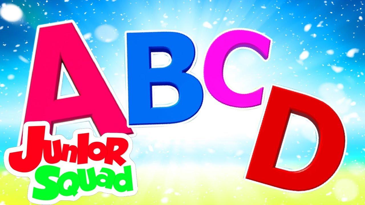 أغنية Abc | فيديوهات متحركة | Junior Squad Arabic | التعليم | أغاني للأطفال