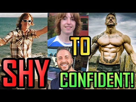 Shy to CONFIDENT! How I increased my CONFIDENCE over the years...   The Shy Guy Story