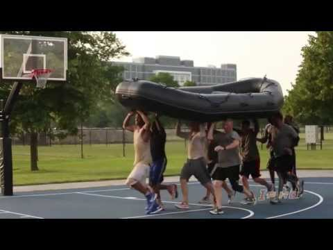 Illinois Men's Basketball SEAL Team Physical Training 2013
