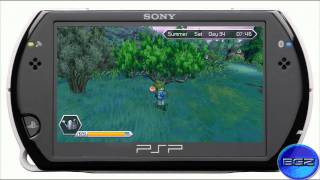 Harvest Moon Innocent Life PSP Episode 4 - Collected Jewels, Meeting The Hermit and The Mermaid