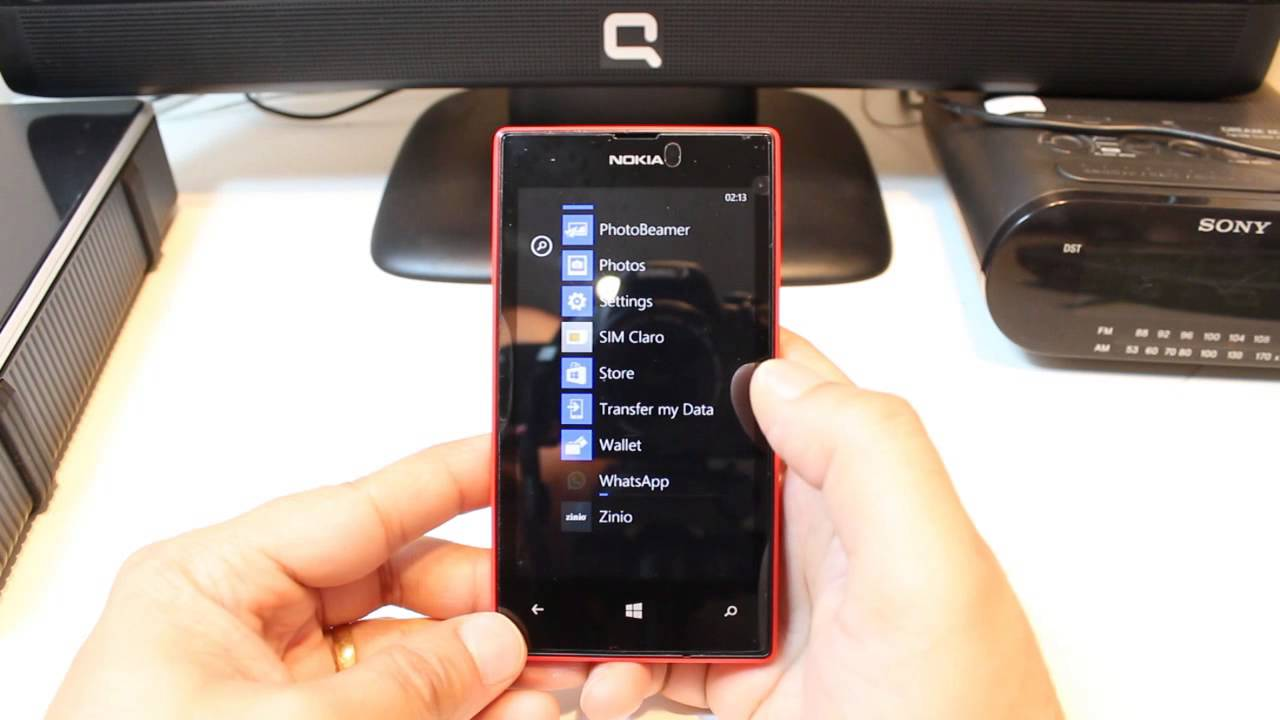ef7e8704d6084 WhatsApp install to Nokia Lumia 520 - YouTube